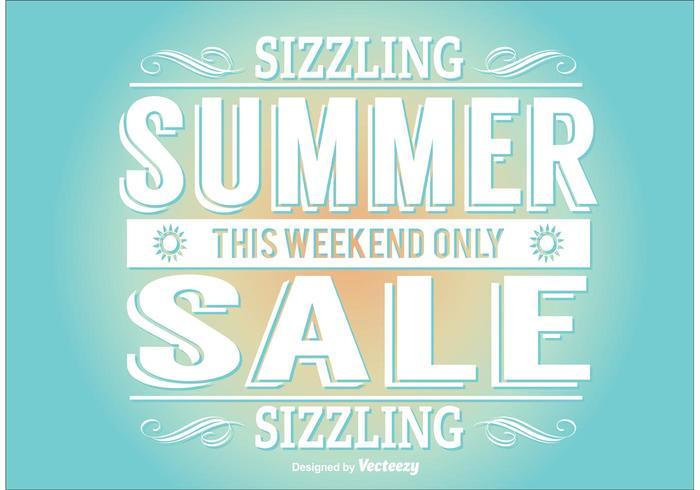 Sommer Verkauf Illustration vektor