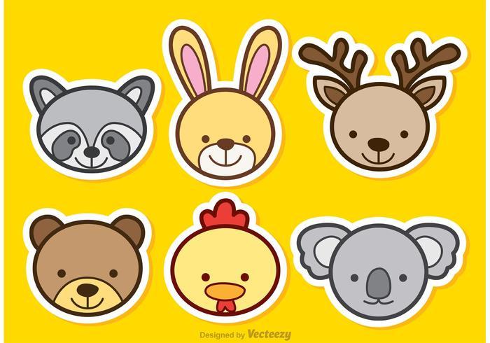 Tiere Cartoon Vektoren