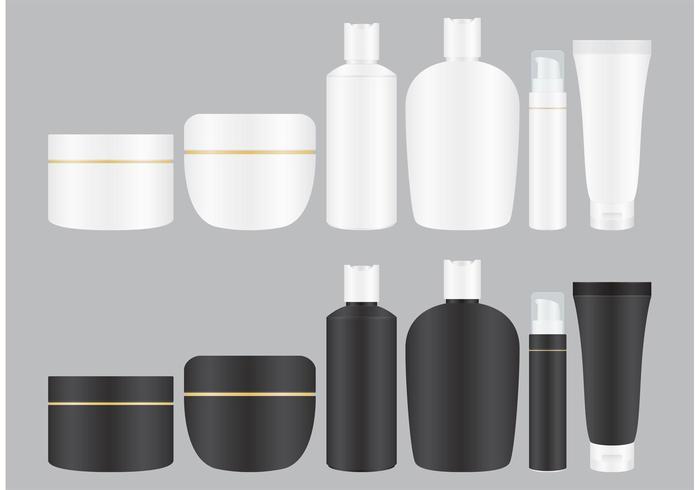 Kosmetik-Behandlung Creme vektor