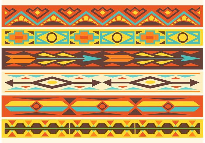 Free Native American Pattern Vector Grenzen