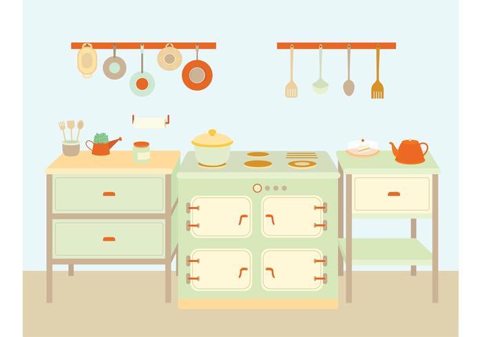 Köksredskap och utrustning vektorer
