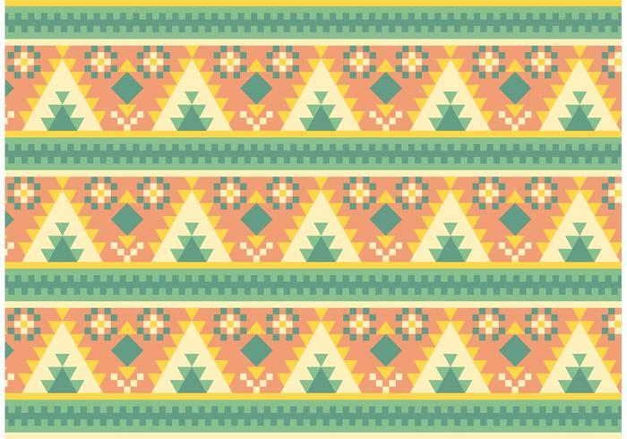 Gratis Native American Pattern Vector