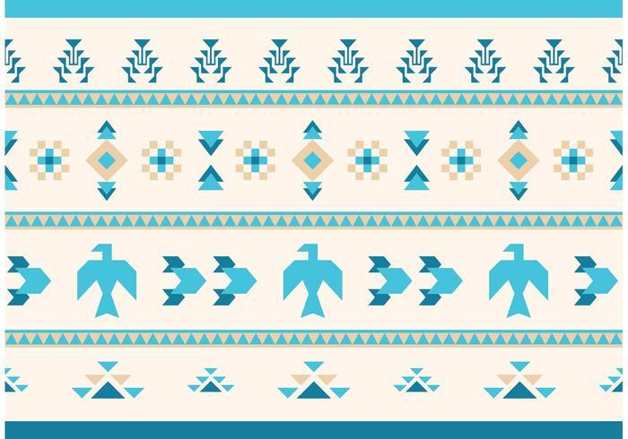 Native American Vector Pattern Eagles und Gans