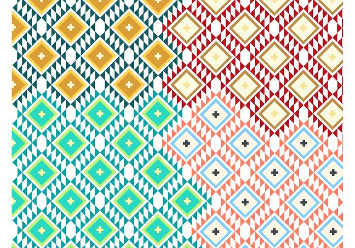 Navajo mönstervektorer vektor