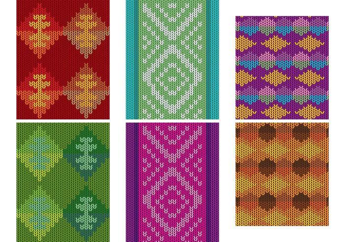 Native American Patterns Textile Vektoren