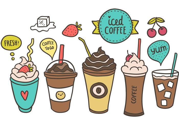 Free Iced Kaffee Vektor
