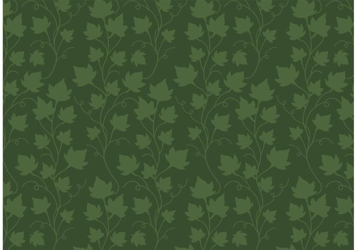 Ivy vinstocksmönster fri vektor