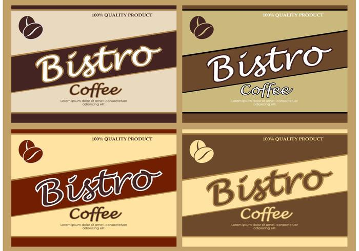 Vektor Kaffee Hintergründe