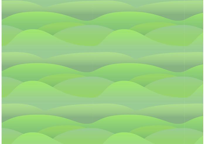 Nahtloses Rolling Hills Pattern vektor