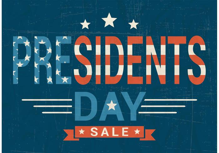 Gratis Presidents Day Sale Vector