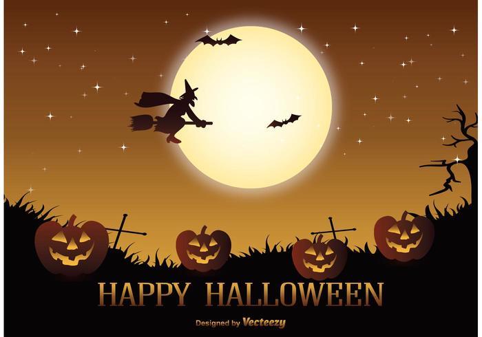 Halloween Vektor-Illustration vektor
