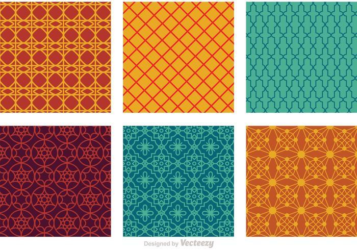 Marokko Nahtlose Vektor-Muster vektor