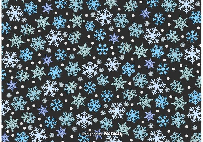 Winter Schneefall Textur vektor