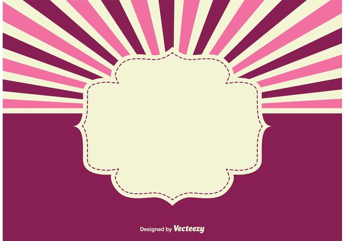 Sunburst Hintergrund Illustration vektor