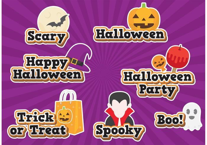 Halloween vektorer