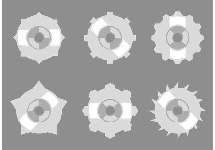 Gear Collection Vektoren