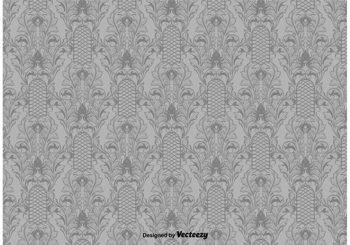 Victorian elegant mönster vektor