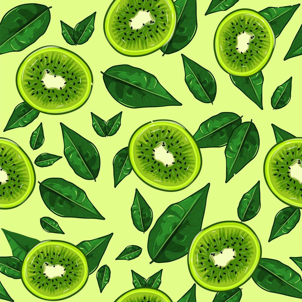 süß-saures Essen voller Vitamin C, bunter Vektor. vektor