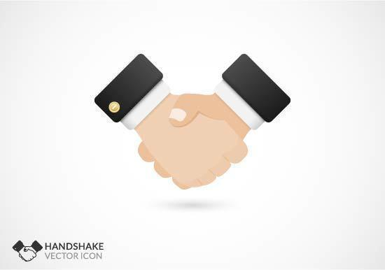 Free Handshake Icon Vektor