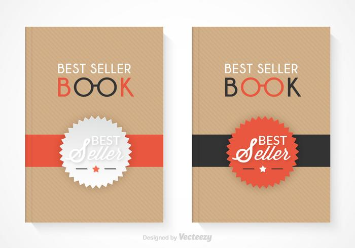 Kostenloser Bestseller Buch Vektor