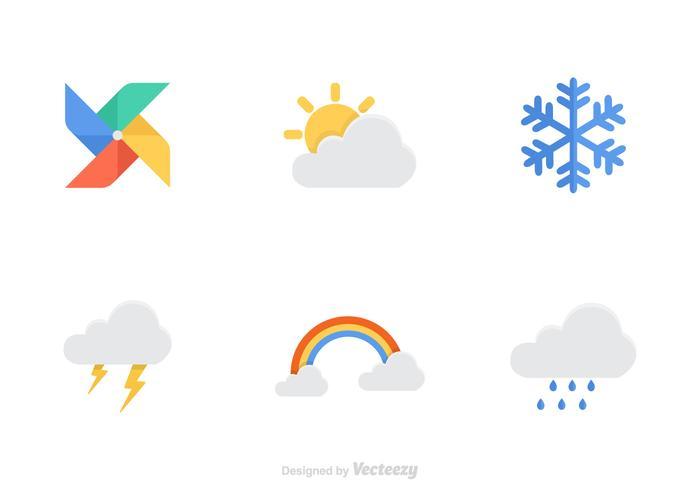Kostenloses Wetter Vektor Icons