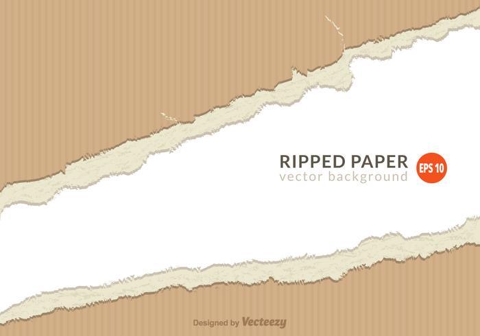 Gratis Ripped Paper Vector
