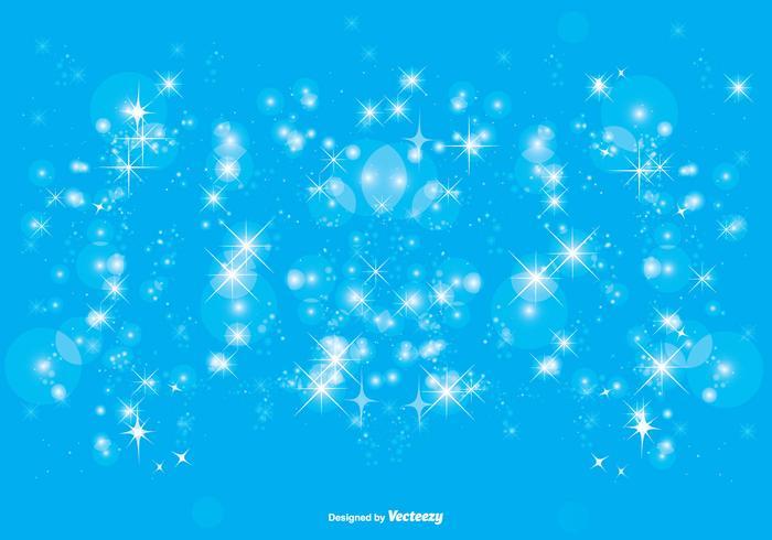 Blue Sparkle Hintergrund Illustration vektor