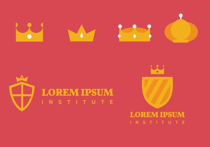 Crown Logo Vektoren