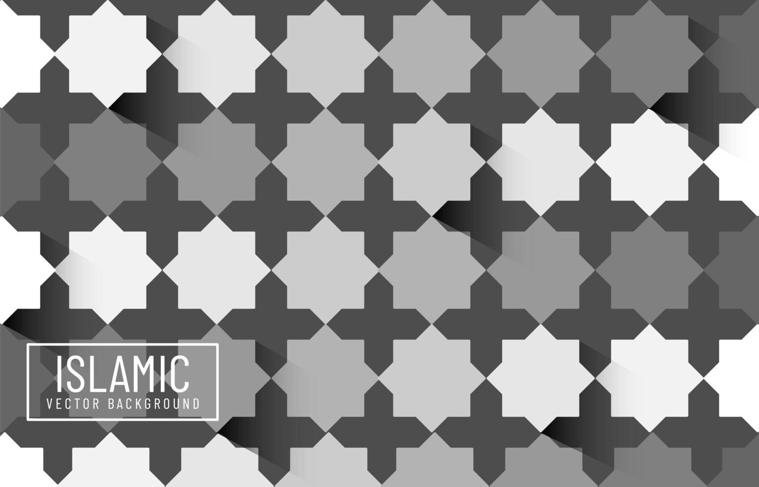 islamisches skandinavisches Hintergrunddesign vektor