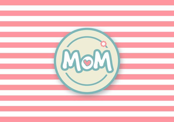 Netter Muttertag Vektor