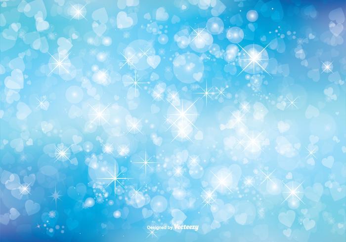 Bokeh Glitter bakgrunds illustration vektor