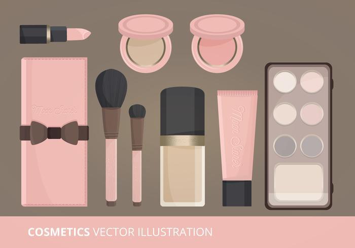 Kosmetik Vektor-Illustration vektor