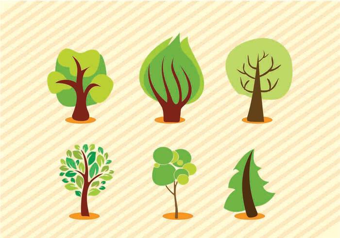 Vektor Bäume