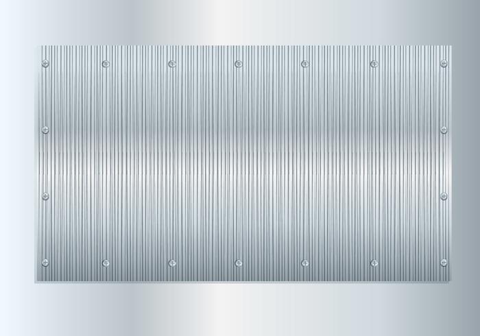 Borstad aluminiumvektor vektor