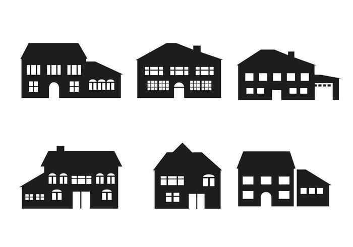 Freie Haus Architektur Vektor