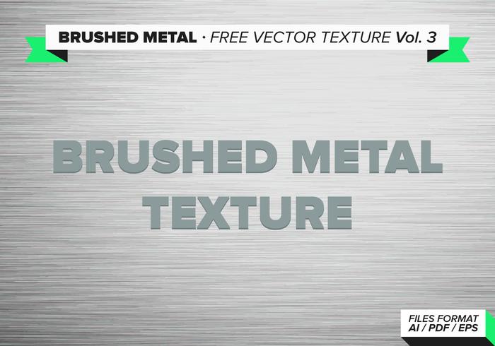 Borstat Metallfri Vektor Textur Vol. 3
