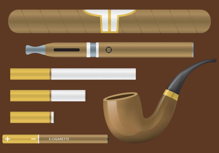 Tobaksvektorobjekt vektor