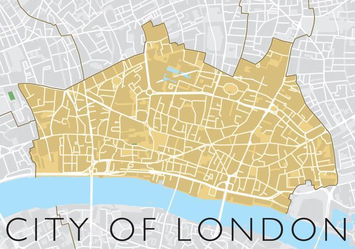 Stadt von London Vektor