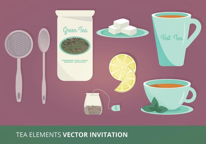 Te Element Vektor Illustration