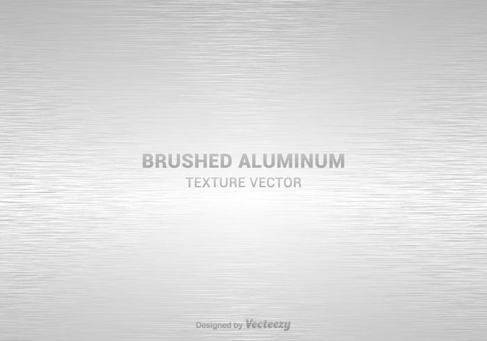 Free gebürstet Alumunium Textur Vektor