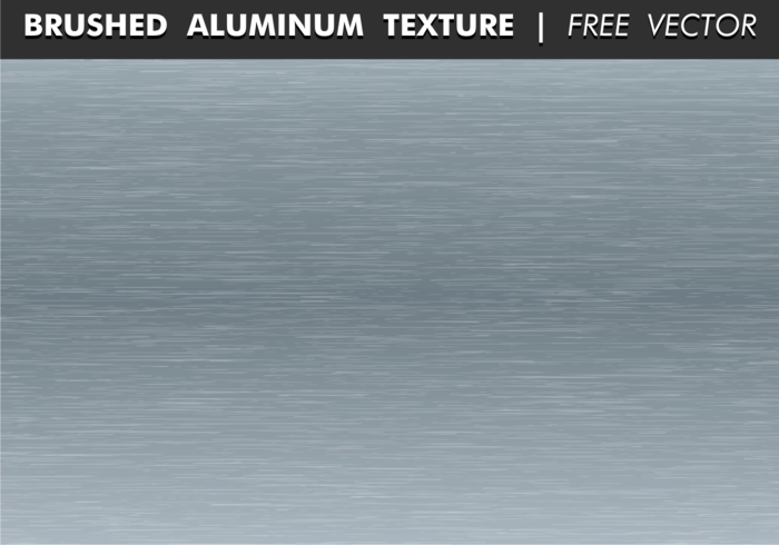 Gebürstete Aluminium Textur Free Vector