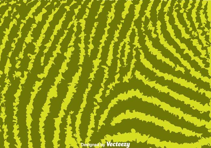 Grön Zebra Print Bakgrund vektor