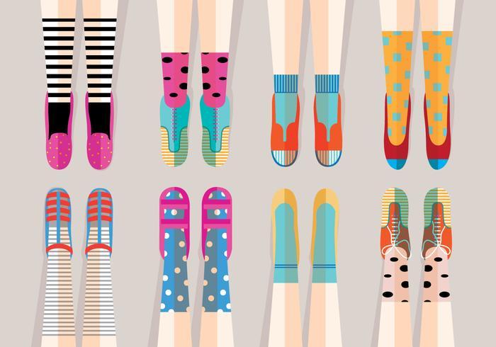 Spaß Schuhe Vektoren