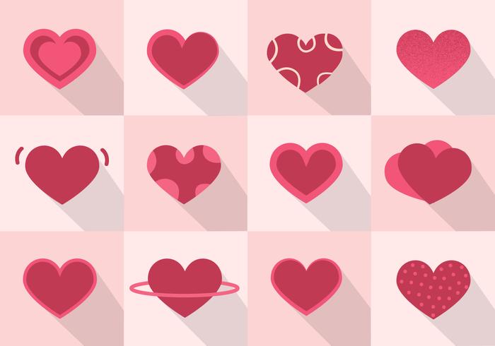 Gratis hjärtvektor vektor
