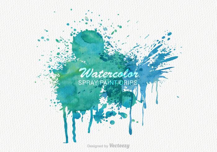 Free Vector Aquarell Farbe Banner