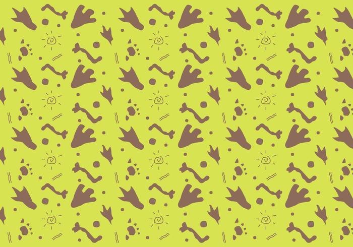 Gratis Dinosaur Mönster # 9 vektor