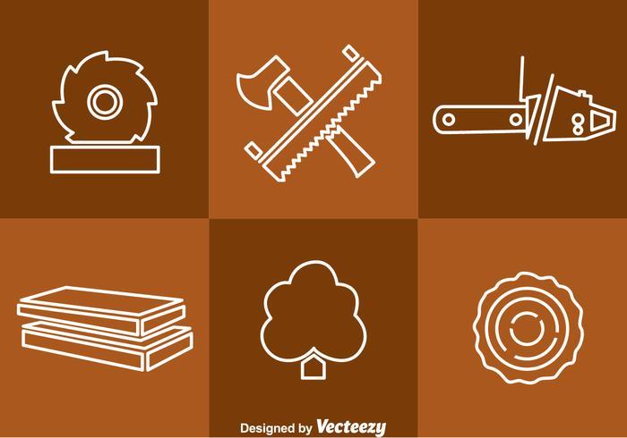 Träverktyg vektor