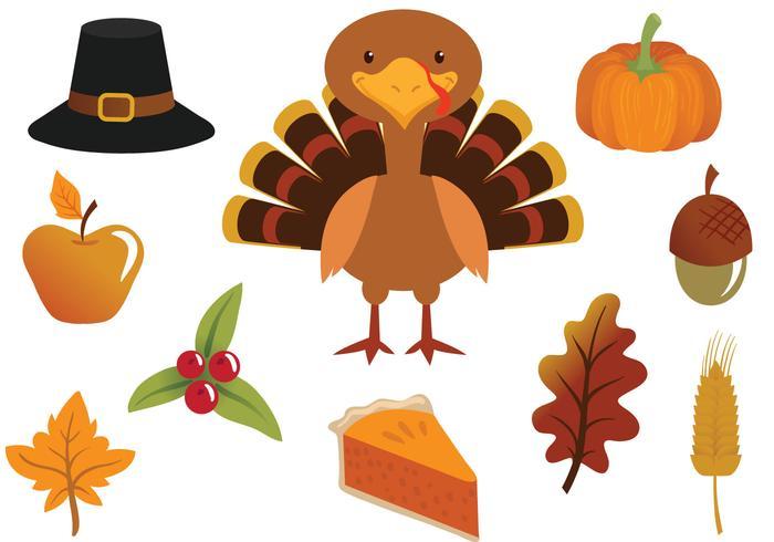 Kostenlose Thanksgiving-Vektoren vektor
