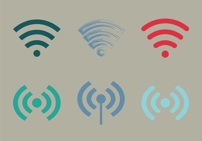 Free Wifi Vektor Icon