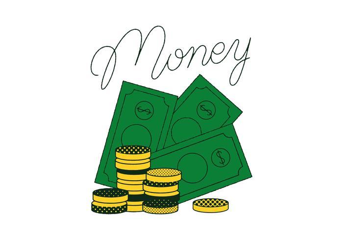 Gratis Geld Vektor